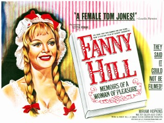 Fanny Hill 1964 British Poster
