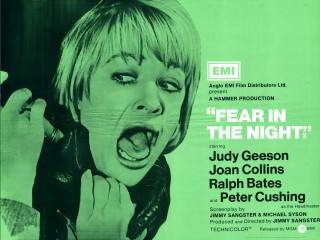 Fear In The Night 1972 Quad UK Poster