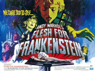 Flesh for Frankenstein 1973 Quad Poster