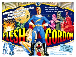 Flesh Gordon 1974 Quad Poster