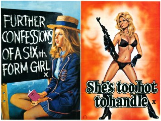 Further Confessions of a Sixth Form Girl 1971 She's Too Hot To Handle 1977 Double Bill