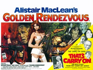 Golden Rendezvous - That's Carry On 1977 Quad Poster
