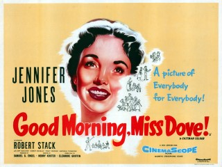 Good Morning Miss Dove 1955 Quad poster