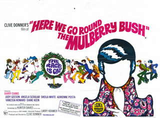 Here We Go Round The Mulberry Bush 1968 Quad British Poster