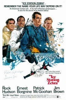 Ice Station Zebra 1968 1 Sheet Art Howard Terpning