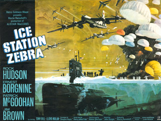 Ice Station Zebra 1968 Quad Robert McCall