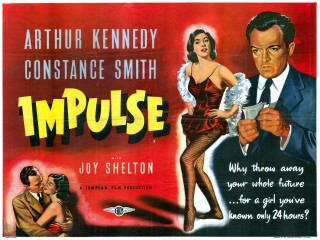 Impulse 1954 Quad British Poster