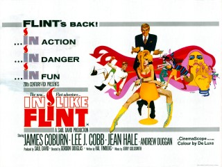 In Like Flint 1967 Quad Poster