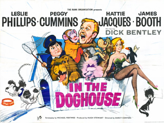 In The Doghouse 1962 Quad British Poster