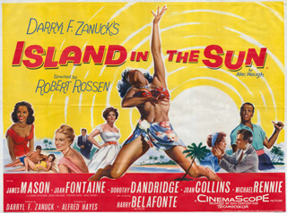 Island In The Sun 1957 Quad UK Poster
