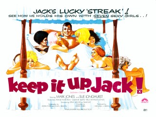 Keep it Up Jack 1973 Quad Poster