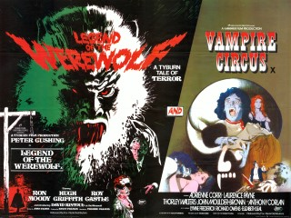 Legend of the Werewolf - Vampire Circus Quad Poster