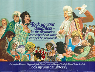 Lock Up Your Daughters 1969 Quad English Poster
