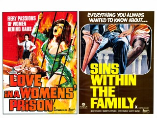 Love in a Womens Prison Sins Within The Family Quad Poster