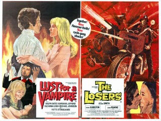 Lust for a Vampire - The Losers 1971 Quad Poster