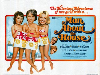 Man About the House 1974 Quad Poster