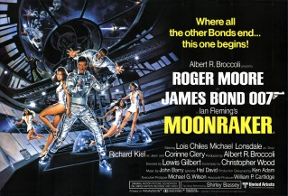 Moonraker 1979 Quad Art Dan Gouzee