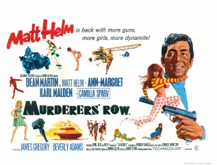 Murderers Row UK Quad Poster 1966