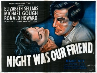 Night Was Our Friend 1951 Quad Poster