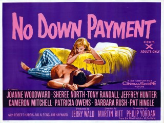 No Down Payment 1957 Quad Poster