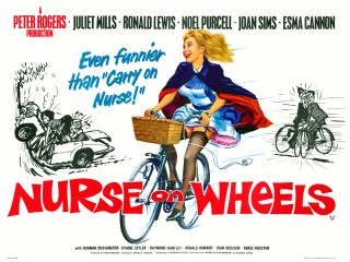 Nurse on Wheels 1963 British Poster
