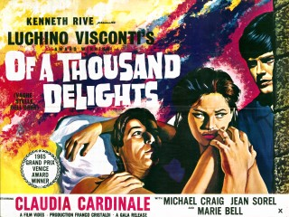Sandra Of A Thousand Delights 1965 Quad Poster