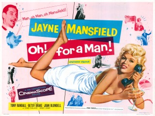 Oh! For a Man! / US Will Success Spoil Rock Hunter? 1957 Quad Poster