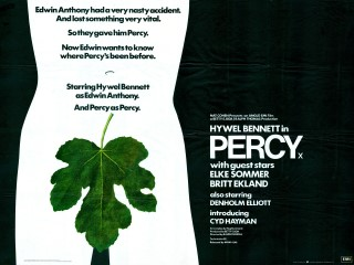Percy 1971 Quad British Poster