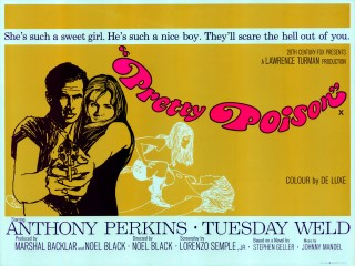 Pretty Poison 1968 Quad Poster