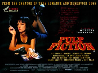 Pulp Fiction 1994 Quad