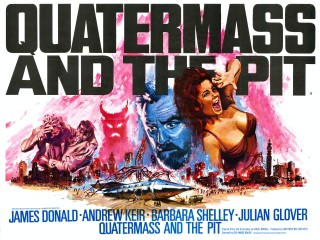 Quatermass and the Pit 1967 Quad poster
