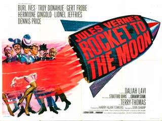 Rocket To The Moon 1967 Quad poster