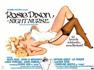 Rosie Dixon Night Nurse 1978 Quad poster