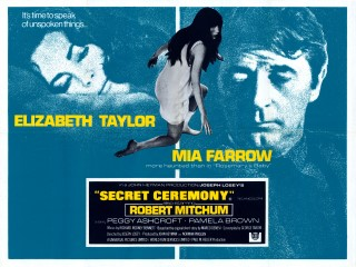 Secret Ceremony 1968 Quad Poster