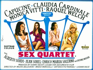 Sex Quartet 1966 Quad Poster