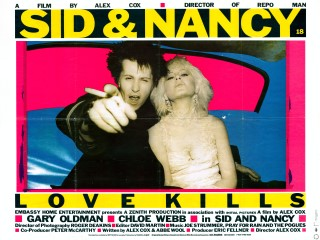 Sid and Nancy 1986 Quad Poster
