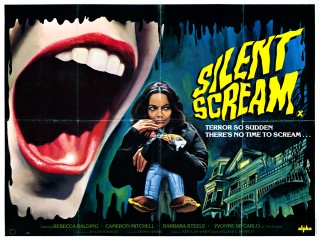 Silent Scream 1980 Quad UK Movie Poster