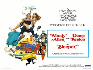 Sleeper 1973 Quad Poster