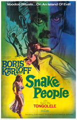 Snake People 1971 One Sheet Poster