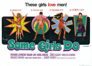Some Girls Do 1969 Quad British Poster