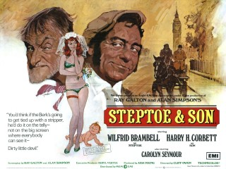 Steptoe and Son 1972 Quad Art Arnaldo Putzu