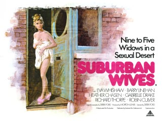 Suburban Wives 1971 Quad British Poster