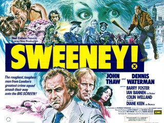 Sweeney! 1977 Quad Art Frank Langford