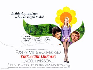 Take A Girl Like You 1970 Quad Poster