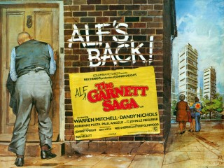 The Alf Garnett Saga 1972 Quad