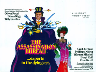 The Assassination Bureau 1969 Quad Uk Poster
