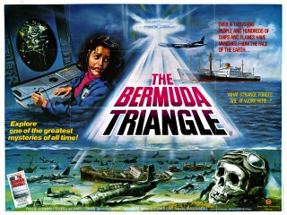 The Bermuda Triangle 1978 Quad Poster