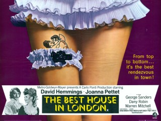 The Best House in London 1969 Quad Poster