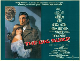 The Big Sleep 1978 Quad Richard Amsel