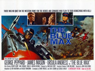 The Blue Max 1966 Quad Poster